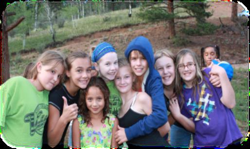 Summer camp girls